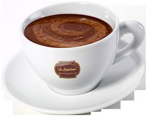 Taza de Chocolateria La Cepedana