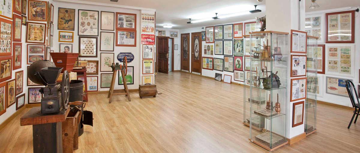 Vista del interior del Centro de Interpretación del Museo del Chocolate en Astorga